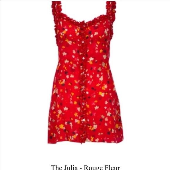56574dae4d0 NWT- XS Realisation Par Julia Dress